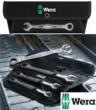 WERA 4 Piece JOKER Combination Ratchet Spanner Set,10mm,13mm,17mm,19mm, 073290