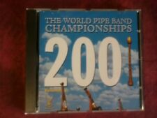 COMPILATION- THE WORLD PIPE BAND CHAMPIONSHIPS 2001. CD