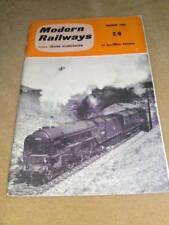 MODERN RAILWAYS - March 1962 Vol XV No. 162