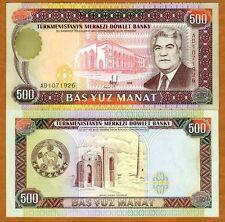 Turkmenistan, 500 Manat, 1995, P-7, (7b), UNC
