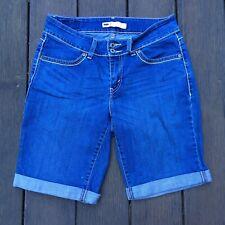 LEVI'S Women's Cuffed Denim Jean Shorts Size 8