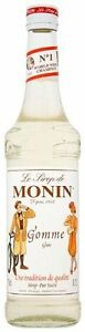 MONIN Coffee Syrup GUM Flavour 70 CL - Great for Daiquiris and Sours!
