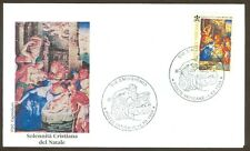 Vatican City Sc# 1088, Christmas 1998 on First Day Cover