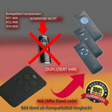 HS1,HS2,HS4,HSM2,HSM4 868,3MHz Kompatibel Handsender sender TOP Qualität