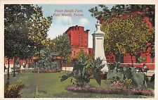 c.1910 Peter Smith Park Fort Worth TX post card