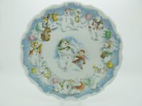 Dance Of The Snowman - Royal Doulton Plate - Excellent -  Free Gift Box