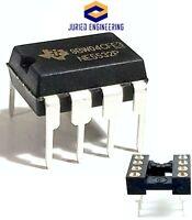 10PCS NE5532P + Sockets - Dual Operational Amplifier New IC