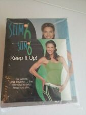 Beachbody Debbie Seibers Slim In 6 Dvd Workout Program W/ Tension Bands *New*