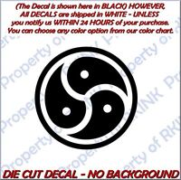 Owned Male BDSM #18 Vinyl Decal Car Window Dungeon Wall Adult Fetish Collard