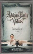 Addams Family Values by Marc Shaiman (Audio CASSETTE) Soundtrack