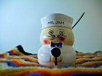Original Vintage Lefton Mr.Jam - Jam Pot, very Rare, late 50s- 60s