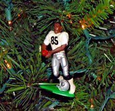 tim BROWN oakland la LOS RAIDERS football NFL xmas ornament HOLIDAY vtg JERSEY