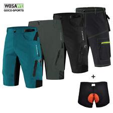 Мужские просторные велосипедные шорты горного велосипеда, горного велосипеда, свободные повседневные спортивные штаны