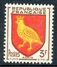STAMP / TIMBRE FRANCE NEUF N° 1004 ** BLASON AUNIS