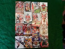 LOT OF SIXTEEN (16) ALL DIFFERENT *MICHAEL CRABTREE* NFL CARDS