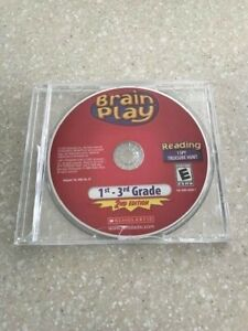 Scholastic Brain Play Interactive CD, Reading I SPY, Grades 1-3