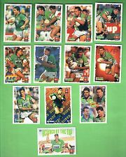 1995 SERIES 1 CANBERRA RAIDERS  RUGBY LEAGUE CARDS