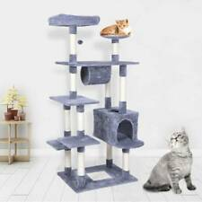 157cm Large Cat Activity Centre Sisal Scratching Post Climber Play Tower