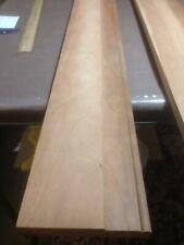 """Decorative Hardwood Lumber Cherry Moulding 1pc 11/16""""x4-3/4""""x4 3-3/4""""Unfinished"""