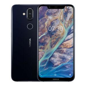 """Original Nokia 8.1 (Nokia X7) Dual SIM 64GB 4GB RAM 4G LTE 13MP 6.18"""" Smartphone"""