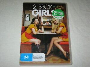 2 Broke Girls - Complete Season 3 - 3 Disc Set - VGC - Region 4 - DVD