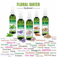 Hydrosol & Floral Water 100ml / 3.3oz 100% Pure And Natural