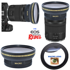 HD ULTRA WIDE LENS FOR Canon EOS RP Mirrorless Camera with 24-105mm f/4-7.1 Lens