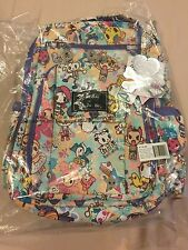 NWT NIP COMPLETE Perky Toki Be Right Back Tokidoki Jujube BRB Backpack E