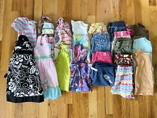 Toddler Girls Clothing Lot Of 24 Pieces Size 2T Shirts Shorts Dresses Outfits