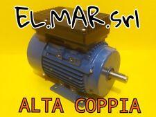 Motore Elettrico Monofase HP 1,5 1400 Giri ALTA COPPIA Disgiuntore Centrifugo