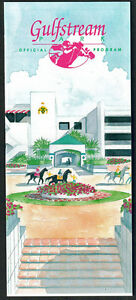 HOLY BULL, GO FOR GIN IN 1994 GULFSTREAM PARK FLORIDA DERBY HORSE RACING PROGRAM