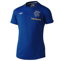 UMBRO GLASGOW RANGERS Mens HOME Soccer Football Jersey Shirt 2012-13