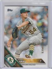 2016 Topps Limited Edition #4 Sonny Gray Oakland Athletics