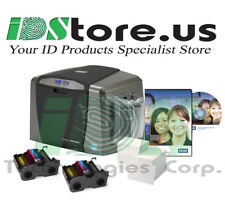 FARGO DTC1250e Single Side Starter Photo ID Card Printer System
