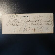LETTRE COVER CAD T. 12 SOISSONS (2) 5 AOUT 1830 CACHET Id