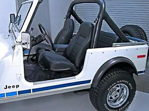 Rugged Ridge 13401.15 Front Seat High Back for 76-03 Jeep Wrangler/CJ5/CJ7/CJ8