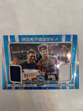 2020 Spectra Football Patrick Mahomes Russell Wilson Respectra Dual Relic # /35