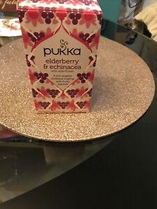Pukka Tea Elderberry Echinacea 20 Teabags