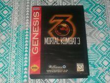 Mortal Kombat 3 (Sega Genesis) CIB Complete - Fighting Game