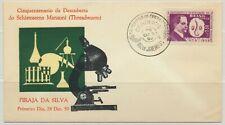 Brazil Sc. 903 Piraja da Silva and Schistosoma Mansoni Medicine on 1959 FDC