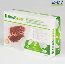 FoodSaver Vacuum Sealing Bags & Rolls Combo Pack, FGP252X