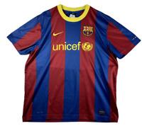 Barcelona Barca 2010-2011 Home Football Shirt Soccer Jersey Unicef size XL