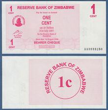 SIMBABWE / ZIMBABWE 1 Cent 2006  UNC  P. 33