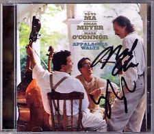 Yo-Yo Ma Mark O 'Connor signed Appalachia Waltz Edgar Meyer schizoozy Druid Fluid