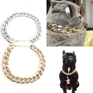 Cool Dog Collar Necklace For Pitbull Bulldog Necklace Accessories Chain Collar