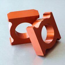 Orange Chain Adjusting Adjuster Blocks Honda CBR900RR CBR929RR Fireblade 00-03