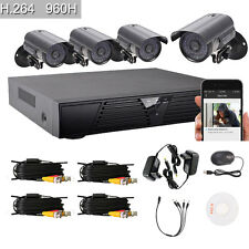 8CH 960H HDMI HD DVR Indoor Outdoor Video Home IR-CUT Security Camera System Kit
