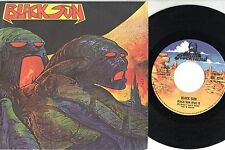 BLACK SUN  disco  45 giri  MADE in ITALY  Part I & II STAMPA ITALIANA 1978