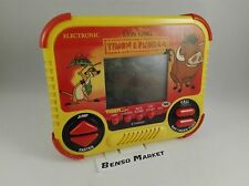 GIG TIGER ELECTRONICS DISNEY'S IL RE LEONE THE LION KING TIMON & PUMBAA CONSOLE