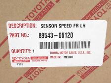 Genuine OEM Toyota Lexus 89543-06120 Driver Side Front ABS Wheel Speed Sensor